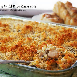 Chicken Wild Rice Casserole.
