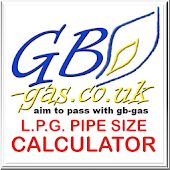 GB Gas LPG Pipe Sizing Calc.