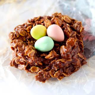 Bird's Nest Cookies.