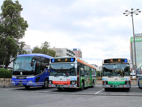 奈良交通「八木新宮線」 ・960 八木駅にて その1
