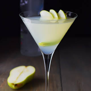Pear and Elderflower Martini.