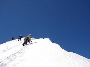Photo: Kleinglockner - prawie na szczycie