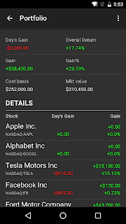 Stocks - Realtime Stock Quotes screenshot 04