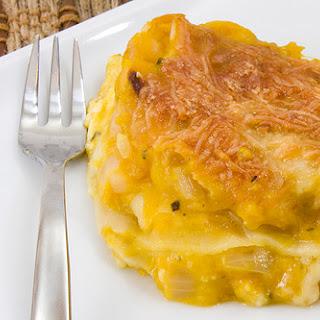 Butternut and Navy Bean Lasagna.