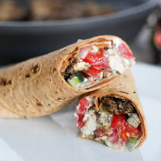 Chicken Shawarma Wrap.