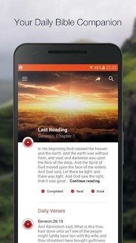 King James Bible (KJV) Screenshot