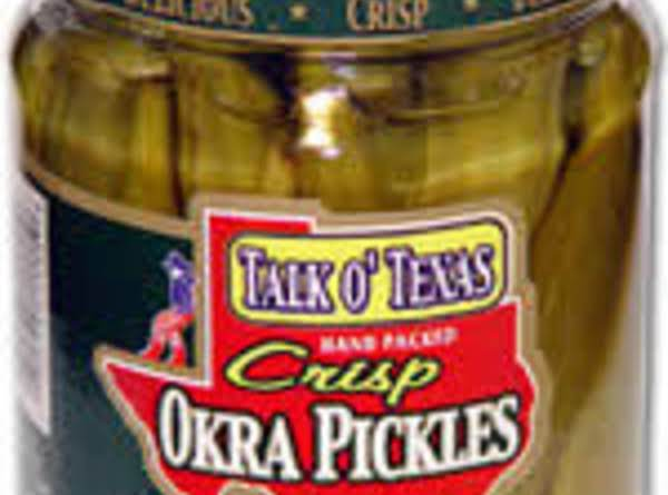 Paula Deen's Fried Pickled Okra With Creamy Chipotle Sauce