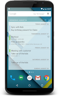 Calendar Widget – Miniaturansicht des Screenshots