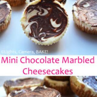Chocolate Marbled Mini Cheesecakes Recipe
