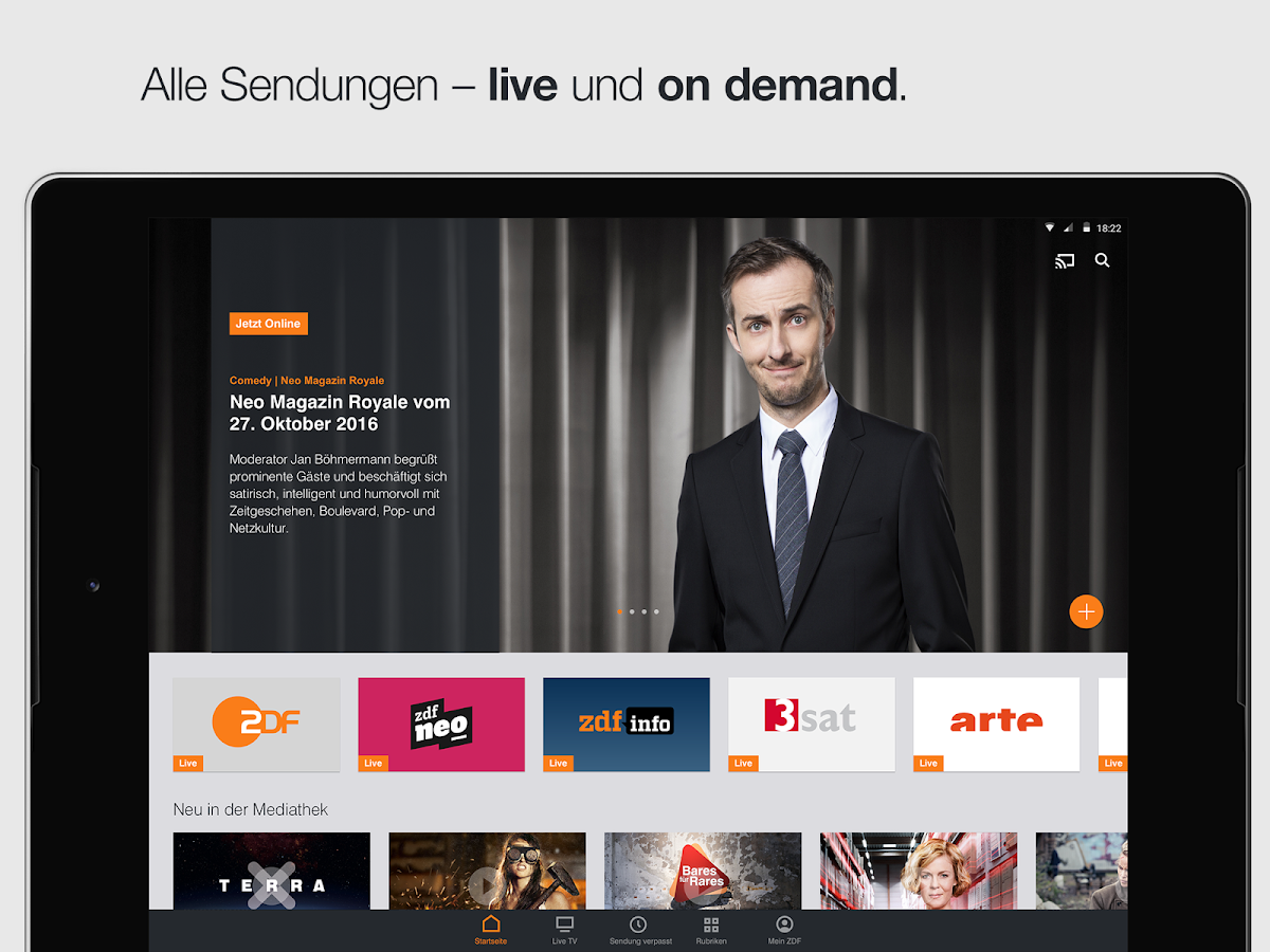 ZDFmediathek & Live TV- screenshot