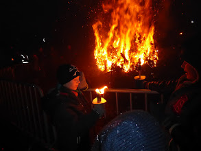 Photo: Pijpelheide on fire....