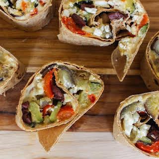 Mediterranean Hummus Wraps.