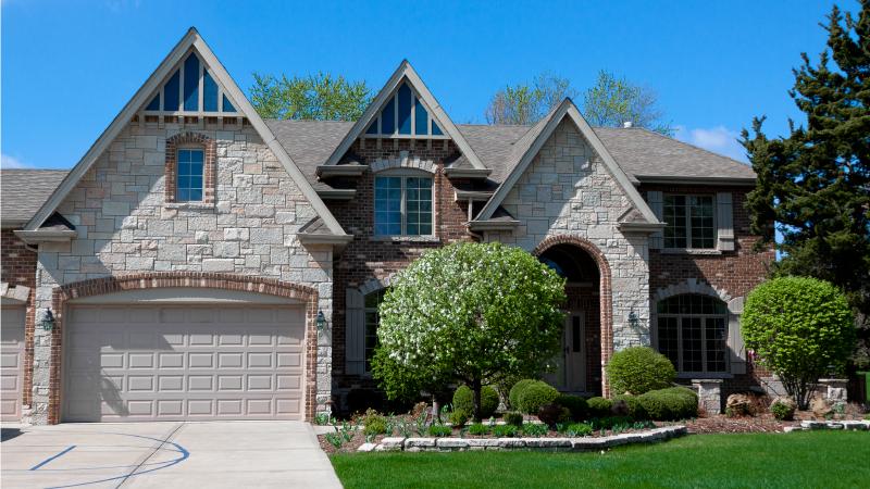 A beautiful single-family home