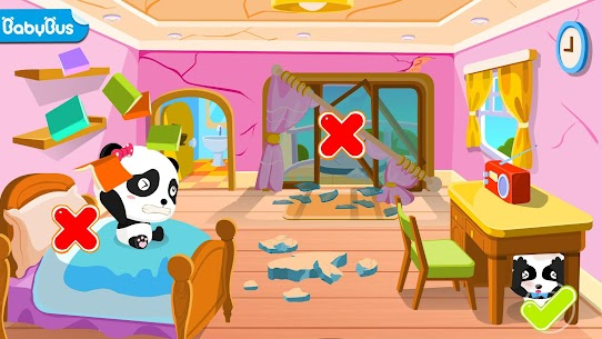 Little Panda Earthquake Safety 7