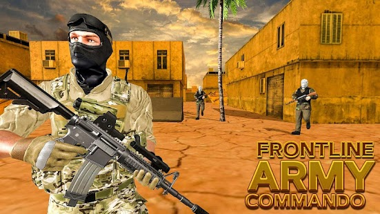 Call of Army Frontline Special Forces Commando