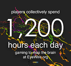 Photo: Players Collectively spend 1,200 hours each day mapping neurons on eyewire.org
