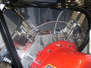 Photo: De eerste motor begint er weer op te lijken na het vuile water hier.