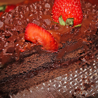 Valentine's Day Special-Strawberry filled Chocolate Cake…