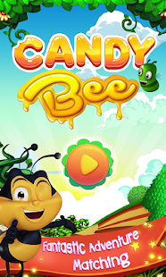 Candy Bee Match 3 - náhled