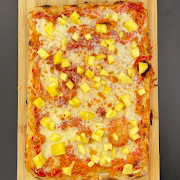 "Kids Pineapple Pizza 13"" 8 slices"