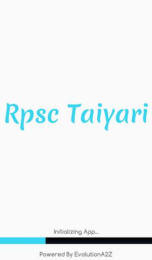 Android/PC/Windows için RPSC RAS RAJASTHAN GK Taiyari Uygulamalar (apk) ücretsiz indir screenshot