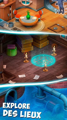 Ghost Town: Mystery Match Game  captures d'écran 2