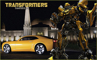 Transformers Bumblebee robot and vehicle mode