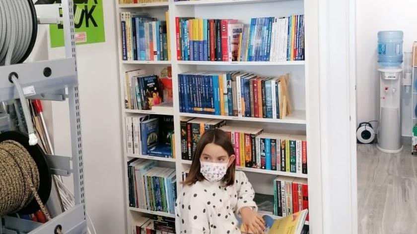 Espacio de Bibabuk dedicado a temas náuticos. La librería ya cuenta con dos en la provincia.