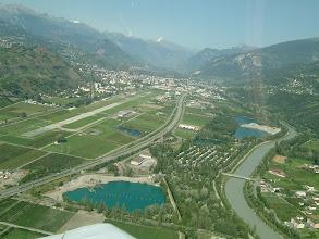 Photo: The runway in Sion http://www.swiss-flight.net