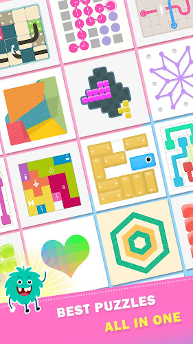 Puzzledom - classic puzzles all in one Android App Screenshot