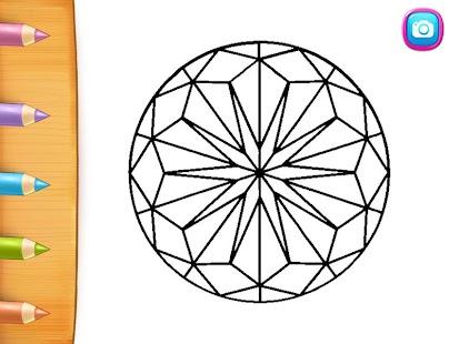 Best Mandala Coloring Book - náhled