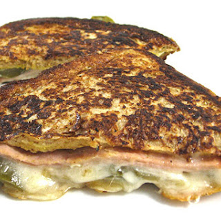 Skinny Grilled Ham and Cheese French Toast for a Quick Weeknight Dinner