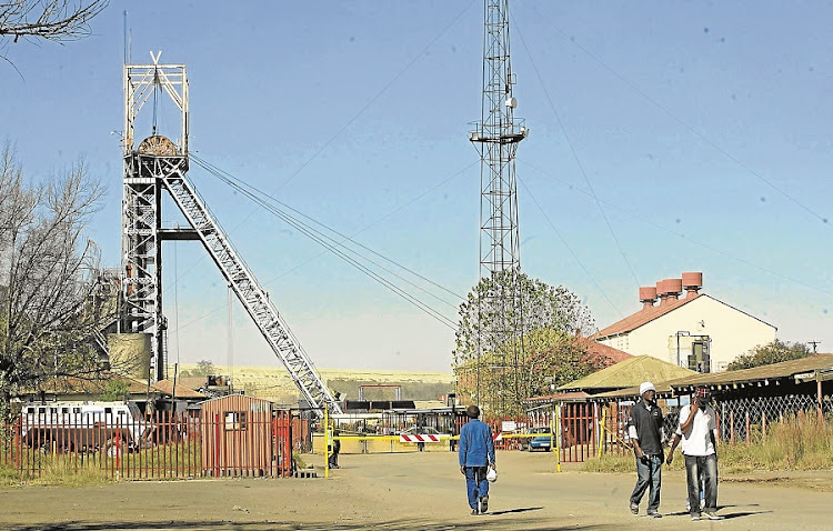 Aurora miners. Picture: BUSINESS DAY/ MOHAU MOFOKENG