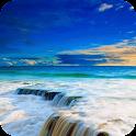 Bright seascape LWP icon