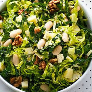 Hearty Kale and Bean Salad.