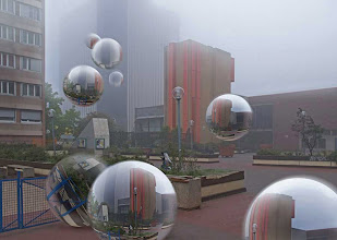 Photo: Bulles miroirs, 2008
