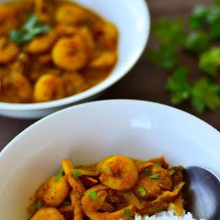 Creamy Coconut Prawn Curry