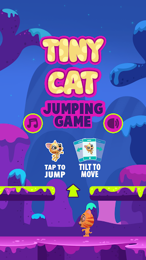 Tiny Cat Jumping Game