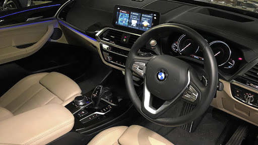 The interior has a more executive feel with equipment and design that has filtered down from the 7 Series.    Picture: MARK SMYTH