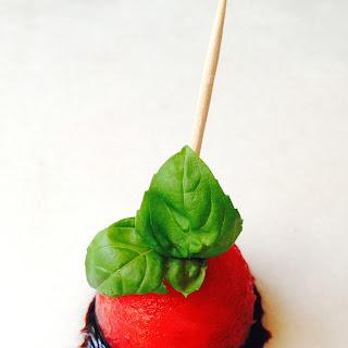 Balsamic Basil Watermelon Antipasto (Vegan Primal) Recipe