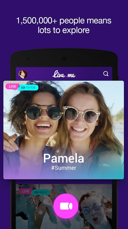 Screenshots of Live.me™– Live video streaming for iPhone
