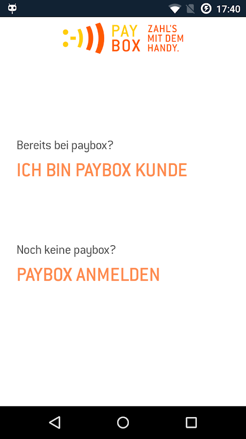 paybox- screenshot