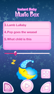 Instant Baby Sleep Music Box screenshot