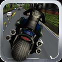 Highway Bike Race  3D icon