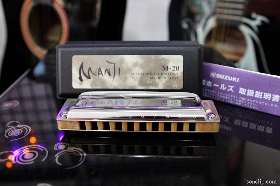 Kèn Harmonica - Suzuki Manji M-20 (key A)