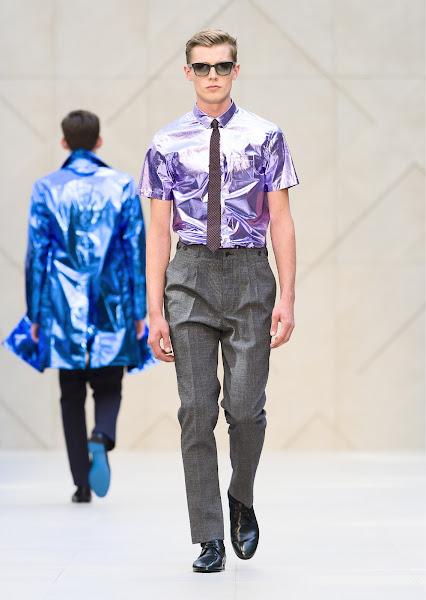 Photo: The Burberry Prorsum Menswear S/S13 Show
