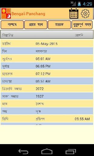 Astrosoft Bengali Panchang