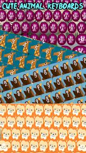 Roztomilé zvířecí klávesnice - náhled