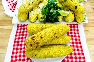 Grilled Corn on the Cob Three Ways