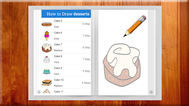 Learn to Draw Desserts - screenshot thumbnail 02